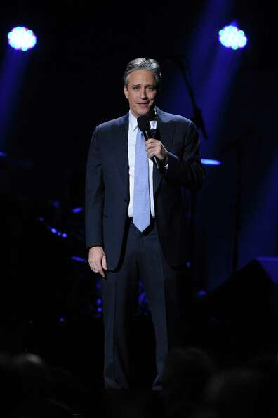 NEW YORK, NY - DECEMBER 12: Jon Stewart performs at