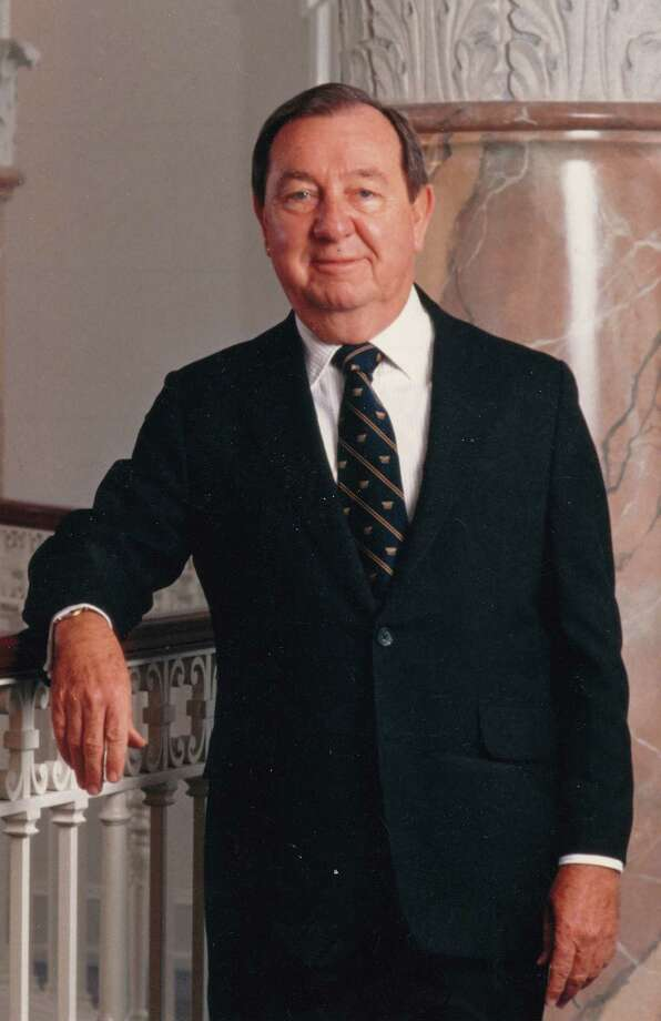 This image released by ABC7/WJLA-TV and News Channel 8, shows Joe Allbritton, founder of Allbrittion Communications. Allbritton, who became one of Washington's most influential men by building media and banking empires, died at the age of 87, on Wednesday, Dec. 12, 2012, at a hospital in Houston, where he lived. Allbritton's fortune was self-made, beginning with real estate trades and banking investments. By age 33, he was a millionaire.-His holdings include eight television stations, including WJLA, the ABC affiliate in Washington whose call letters bear his initials. He owned the Washington Star for several years and his son founded Politico. (AP Photo/ABC7/WJLA-TV and News Channel 8) Photo: HO / ABC7/WJLA-TV and News Channel 8