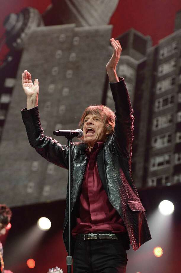 "NEW YORK, NY - DECEMBER 12:  Mick Jagger of The Rolling Stones performs at ""12-12-12"" a concert benefiting The Robin Hood Relief Fund to aid the victims of Hurricane Sandy presented by Clear Channel Media & Entertainment, The Madison Square Garden Company and The Weinstein Company at Madison Square Garden on December 12, 2012 in New York City.  (Photo by Larry Busacca/Getty Images for Clear Channel) Photo: Larry Busacca, Getty Images / Getty Images"