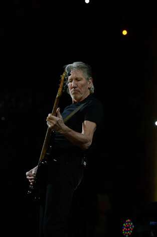 "NEW YORK, NY - DECEMBER 12:  Roger Waters performs at ""12-12-12"" a concert benefiting The Robin Hood Relief Fund to aid the victims of Hurricane Sandy presented by Clear Channel Media & Entertainment, The Madison Square Garden Company and The Weinstein Company at Madison Square Garden on December 12, 2012 in New York City.  (Photo by Larry Busacca/Getty Images for Clear Channel) Photo: Larry Busacca, Getty Images / Getty Images"