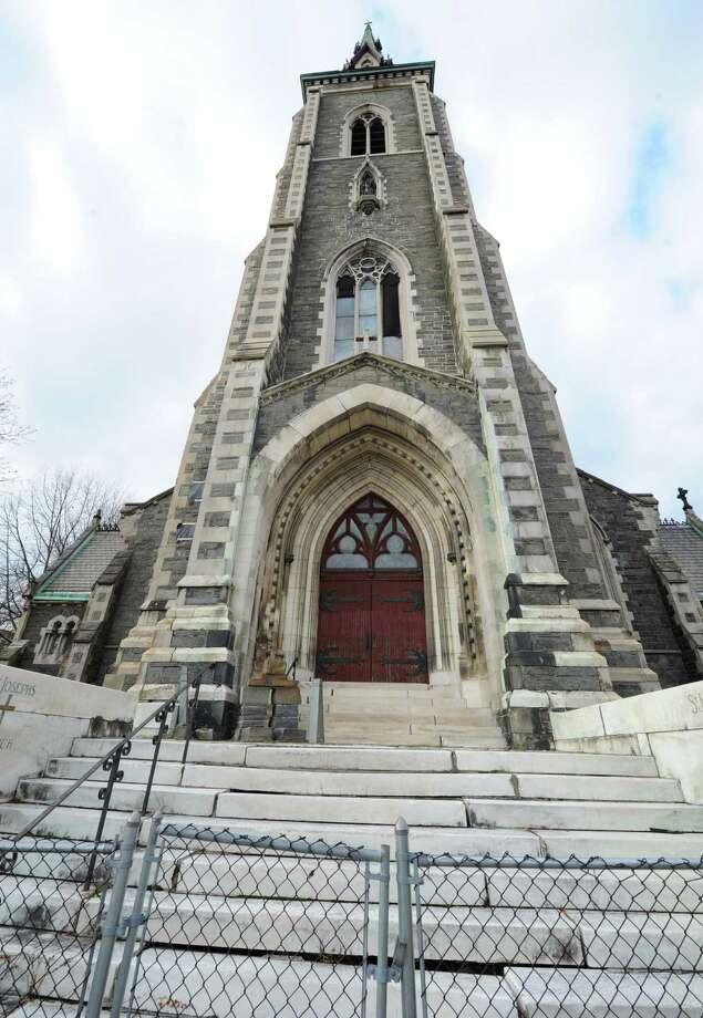 Exterior of St. Joseph's Church on Ten Broeck St. Wednesday Dec. 12, 2012 in Albany, N.Y.  (Lori Van Buren / Times Union) Photo: Lori Van Buren
