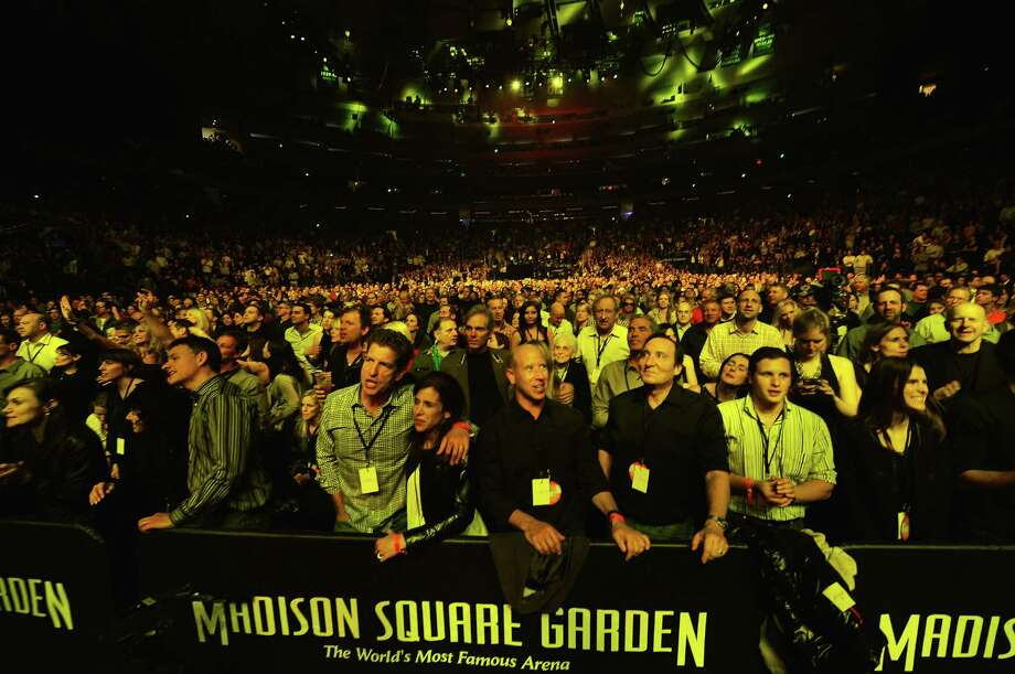 "NEW YORK, NY - DECEMBER 12:  A general view of atmosphere at ""12-12-12"" a concert benefiting The Robin Hood Relief Fund to aid the victims of Hurricane Sandy presented by Clear Channel Media & Entertainment, The Madison Square Garden Company and The Weinstein Company at Madison Square Garden on December 12, 2012 in New York City.  (Photo by Larry Busacca/Getty Images for Clear Channel) Photo: Larry Busacca, Getty Images / Getty Images"