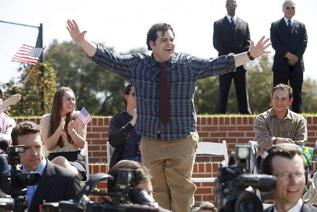 "Josh Gad plays Skip, the screwup son of the president, in NBC's ""1600 Penn,"" about a dysfunctional first family. Photo: Jordin Althaus, NBC"