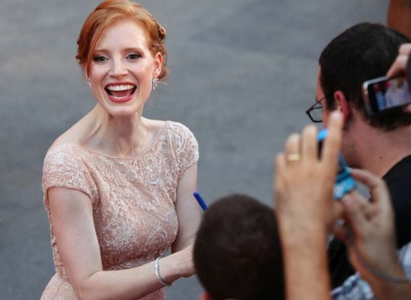 Jessica Chastain  (picture at the Venice Film Festival) -- in the last two years, she has emerged as