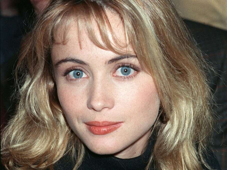 Emmanuelle Beart -- in the 1980s, before her self inflicted facial transformation, a controversy both here and in France.