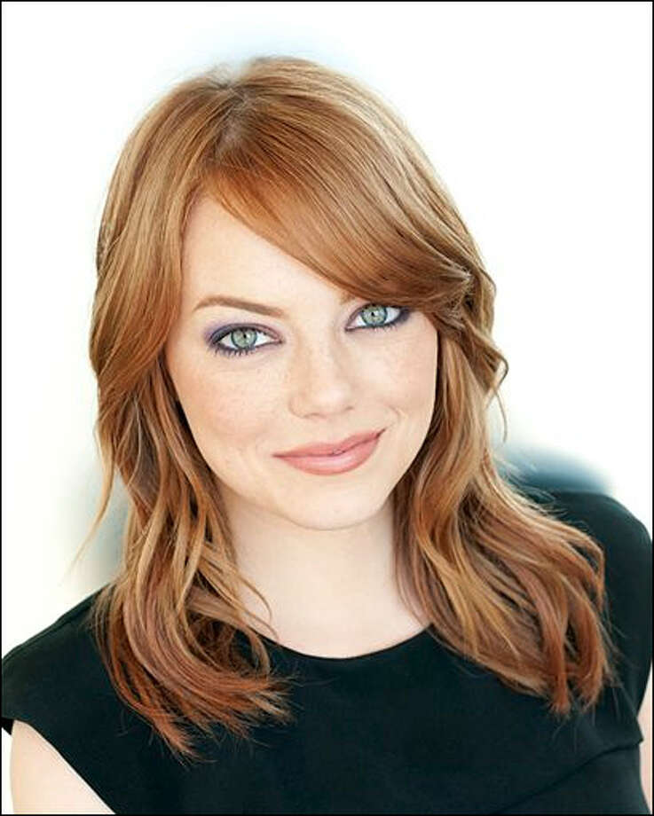 Emma Stone -- Spider-Man's new girlfriend.