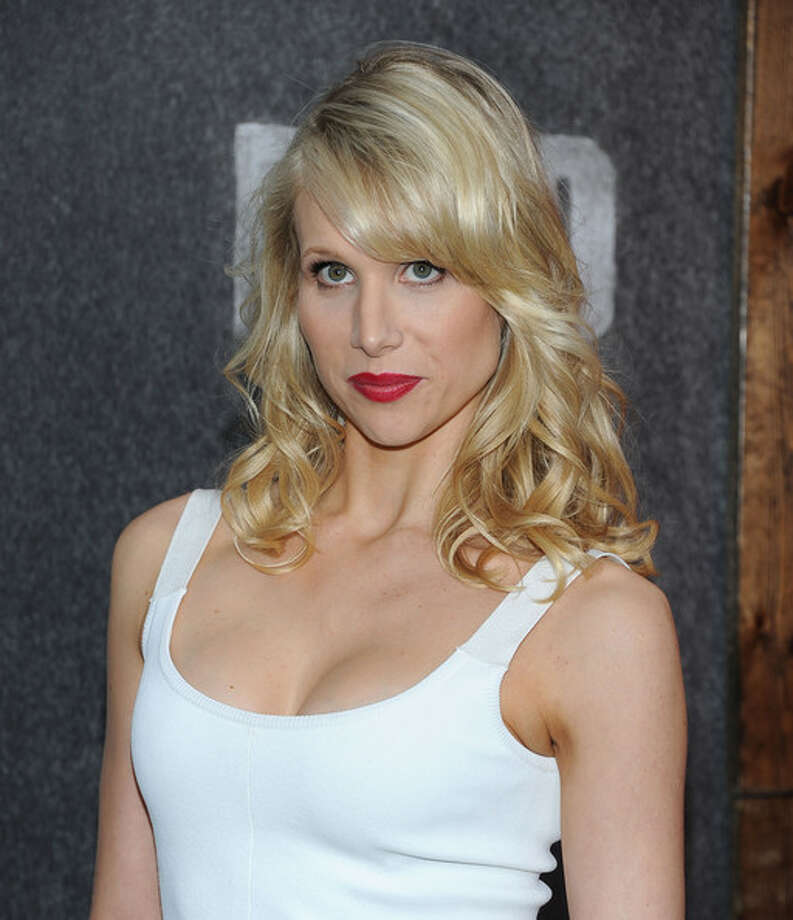 Lucy Punch -- the British comic actress, a beautiful woman without vanity.