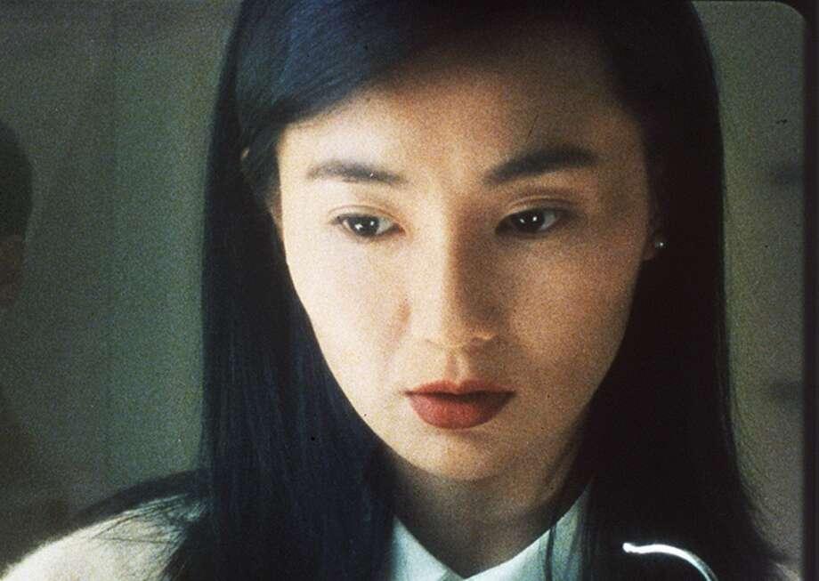 Maggie Cheung -- major star of Wong Kar-wai romances.