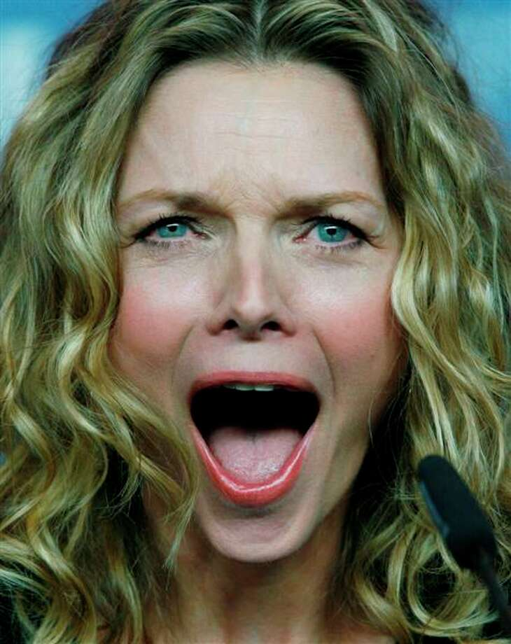 Michelle Pfeiffer -- I was at the above  press conference in Berlin in 2009, when Michelle Pfeiffer charmed the entire international press following a screening of CHERI -- for which she should have won that year's Oscar.