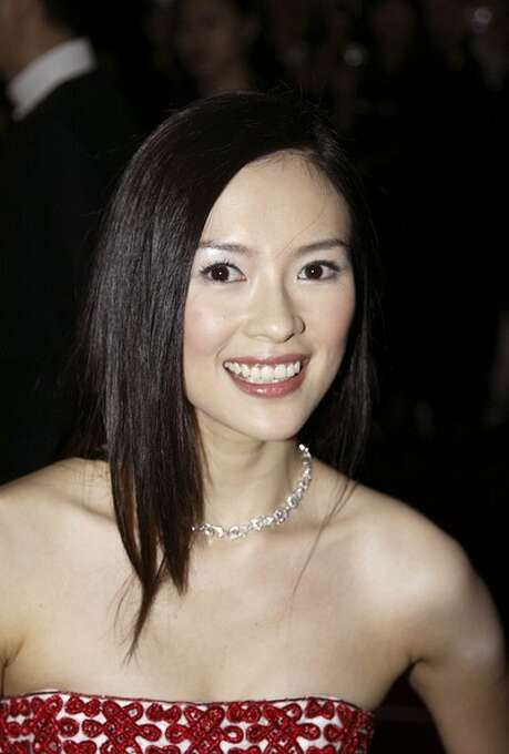 Zhang Ziyi -- Chinese actress, the star of DANGEROUS LIAISONS.