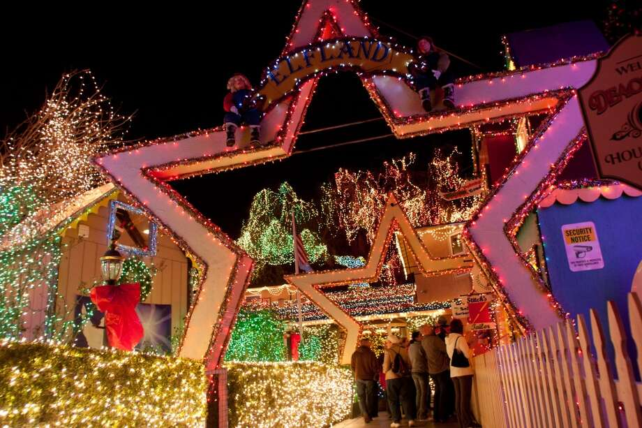 352 Hillcrest Ave. Livermore, Alameda County, 94550For 30 years, Deacon Dave's house has been the largest display of lights in the Bay Area.  This year, its adorned with over 345,300 lights. Lines to see the display can be over an hour on busy days before Christmas. Plan accordingly. (Douglas Zimmerman / SF Gate)