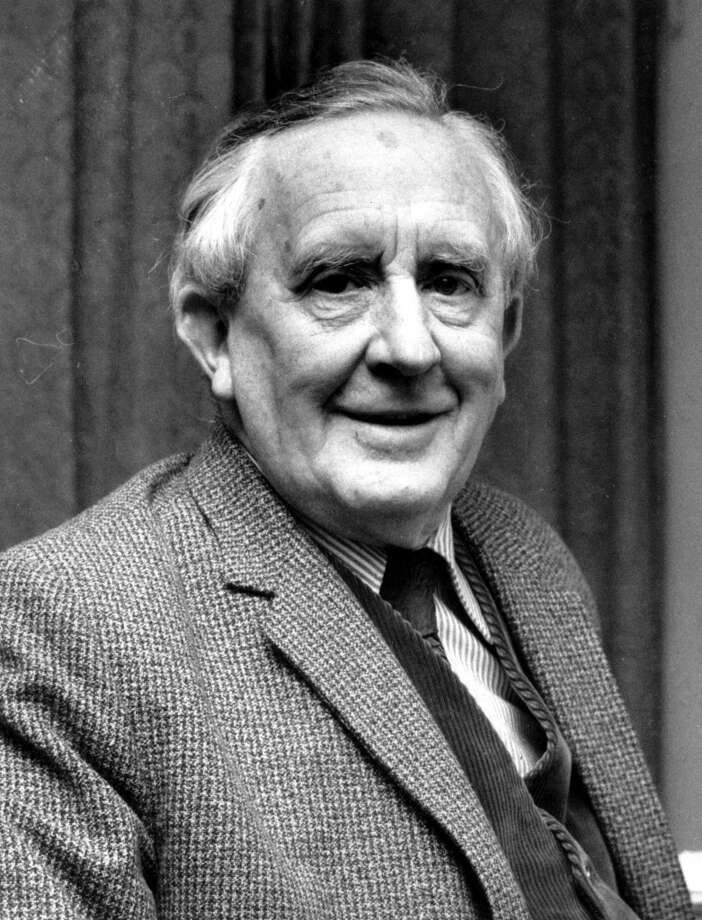 Answer 1: d. John Ronald Reuel J.R.R. Tolkien, author of the fantasy epic, 'The Lord of the Rings,' poses in this 1967 file photo. (AP Photo) (AP)