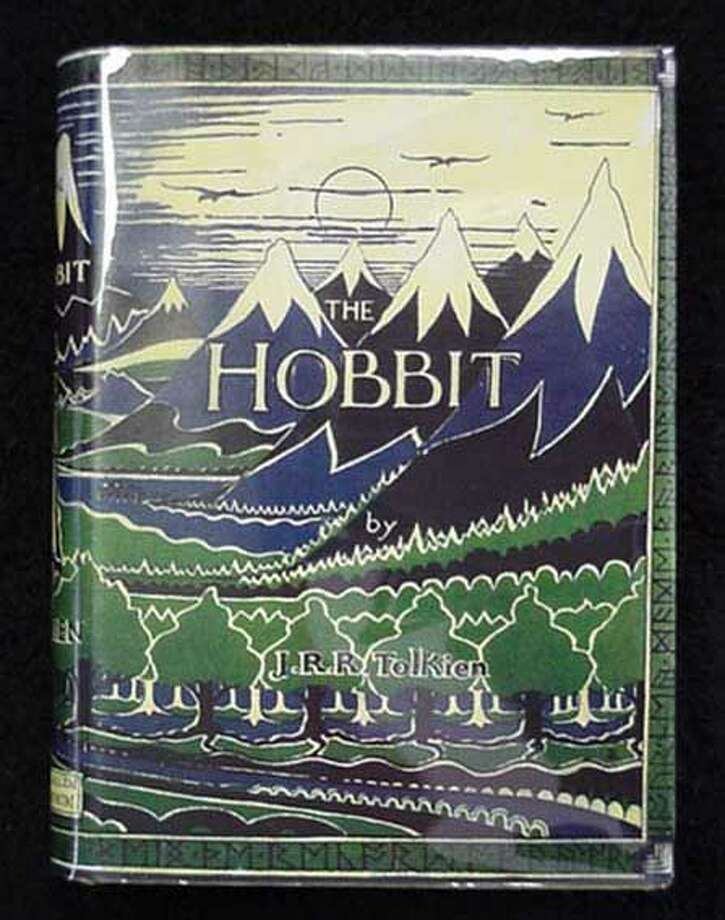 "Answer 5a.  Though ""The Hobbit"" first appeared in 1937 in the U.K., it was published the following year in the U.S.Here is the dust jacket of the first UK edition."
