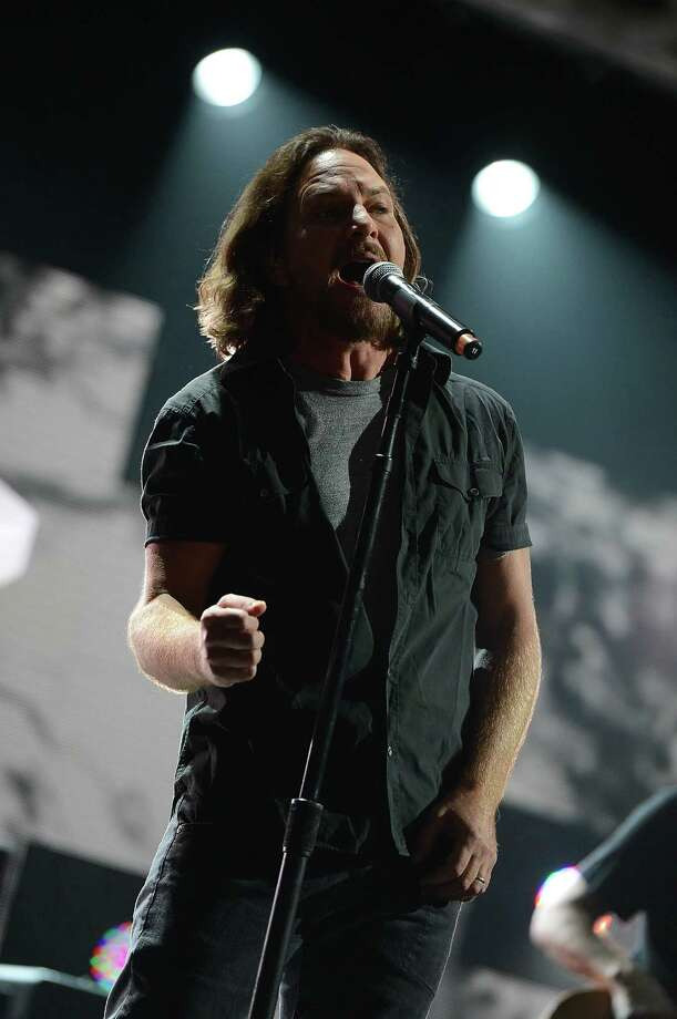 Eddie Vedder performs. (Photo by Larry Busacca/Getty Images for Clear Channel) Photo: Larry Busacca, Ap/getty / 2012 Getty Images
