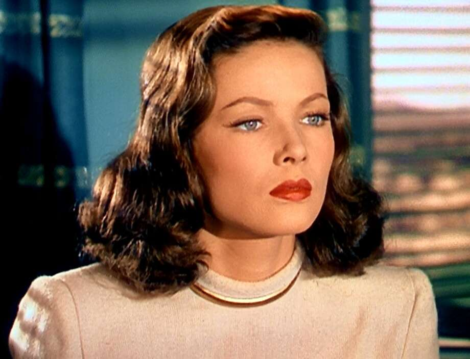 Gene Tierney -- star of LEAVE HER TO HEAVEN and THE SHANGHAI GESTURE.
