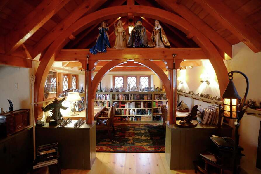 "Shown is an Interior view of the ""Hobbit House"" Tuesday, Dec. 11, 2012, in Chester"