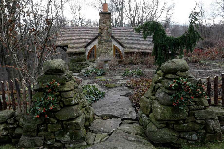 "Shown is an exterior view of the ""Hobbit House"" Tuesday, Dec. 11, 2012, in Chester County, near Philadelphia. Architect Peter Archer has designed a ""Hobbit House"" containing a world-class collection of J.R.R. Tolkien manuscripts and memorabilia. Photo: Matt Rourke, AP / AP"