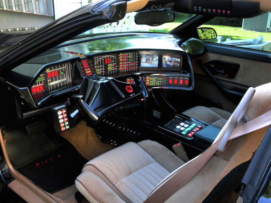 Mike Ott transformed his 1992 Pontiac Firebird into a replica of the Knight Rider K.I.T.T. car. He's now selling the car on Craigslist. Photo: Picasa, Mike Ott