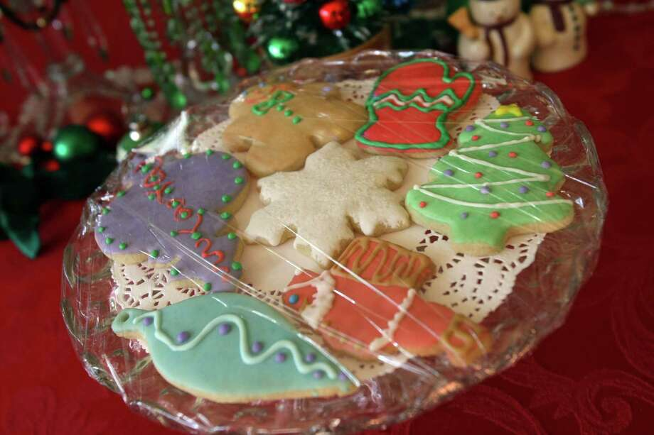 Cookies made from Suzanne Harrison's collection of cookie cutters. Photo: Helen L. Montoya, San Antonio Express-News / ©SAN ANTONIO EXPRESS-NEWS