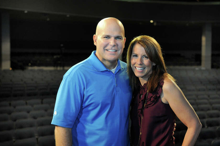 "Pastor Kerry Shook and his wife, Chris, of Woodlands Church, share some of the lessons they've learned during their 28-year marriage in ""One Month to Love."" Photo: Jerry Baker, Freelance / Freelance"