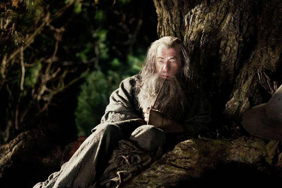 "Ian McKellen returns as Gandalf, who recruits Bilbo Baggins for a quest in ""The Hobbit: An Unexpected Journey."" Photo: Todd Eyre, Photographer / (c) 2012 Warner Bros. Entertainment Inc. and Metro-Goldwyn-Mayer Pictures Inc."