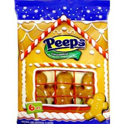 Marshmallow Peeps Gingerbread Men. Now your favorite Easter candy has a Christmas offering. Wonder how the chicks are getting along with the gingerbread men back at the Peeps factory? $6.99. Amazon.com.