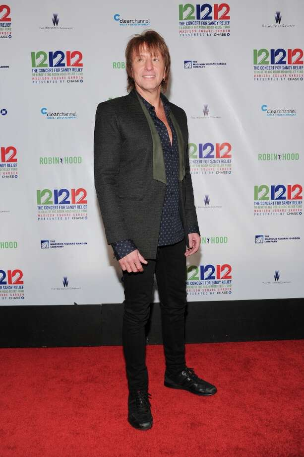 Musician Richie Sambora appears backstage at 12-12-12 The Concert for Sandy Relief, on Wednesday, Dec. 12, 2012 in New York. (Photo by Evan Agostini/Invision/AP Images) Photo: Evan Agostini, Evan Agostini/Invision/AP / AP2012