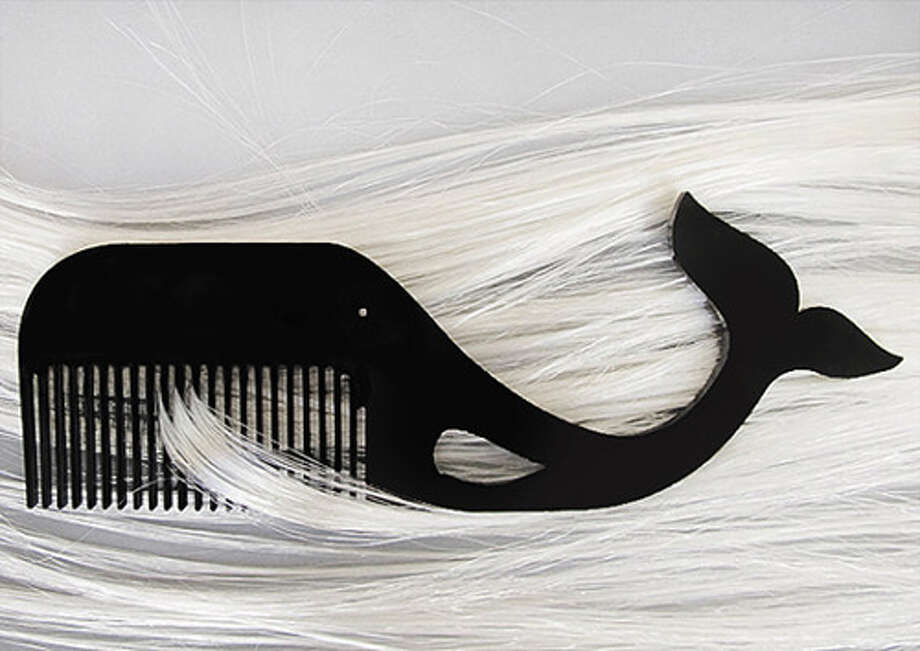 For The Bearded OneBecause it's a subtle sign: stop playing with it in meetings.Whale mustache comb ($25), etsy.comThe 75 Things Every Man Should Do Photo: Contributed Photo