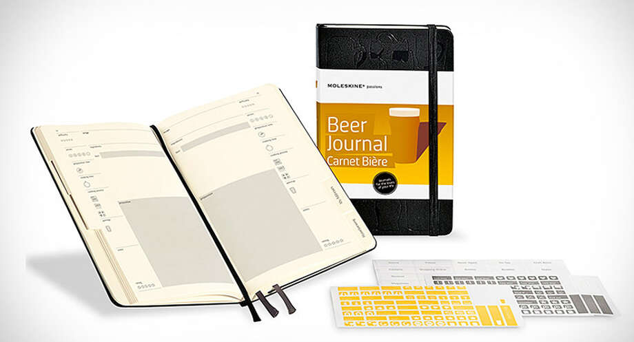 For the Meticulous BoozerNow he can keep his IPA tasting notes to himself.Moleskine beer journal ($19.95), amazon.comThe Best Watches for Blowing Your Bonus Photo: Contributed Photo