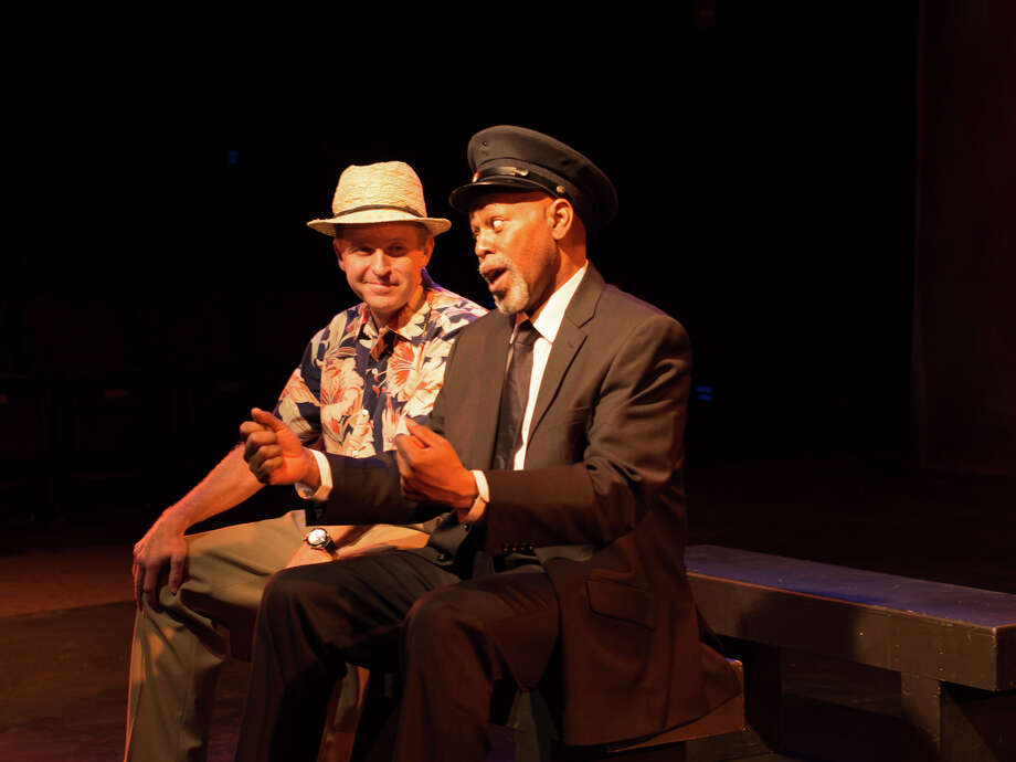 "Bristal Pomeroy (left) is Boolie and Marvin Bell is Hoke in the production of ""Driving Miss Daisy"" at West Hartford's Playhouse on Park through Dec. 23. The venue which opened in 2009 is the state's newest professional regional theater. Photo: Contributed Photo"