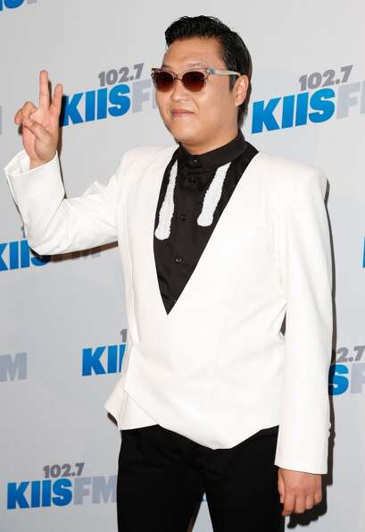 PSY attends KIIS FM's 2012 Jingle Ball at Nokia Theatre L.A. Live on December 3, 2012 in Los Angeles