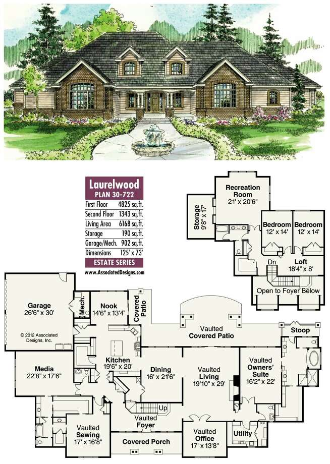 Laurelwood Plan 30-722