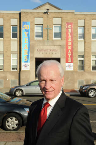 Terry O'Connor, Executive Director of the Cardinal Shehan Center, in Bridgeport, Conn., Dec. 13th 2012. Photo: Ned Gerard / Connecticut Post