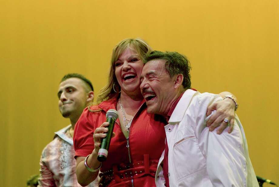 Jenni Rivera, the Mexican-American singer and television star, performs during an event to honor her father, Don Pedro. A plane carrying Rivera crashed early in the morning on Dec. 9. Photo: New York Times / NYTNS