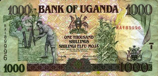Uganda: Got any souvenir shillings? If issued before 2010, they'll no longer be legal tender after March 30. Photo: Banknotes.com