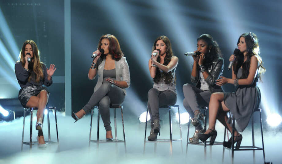 THE X FACTOR: 6 Perform: Fifth Harmony performs live on THE X FACTOR airing Wednesday, Dec. 5 on FOX.  CR: Ray Mickshaw / FOX.