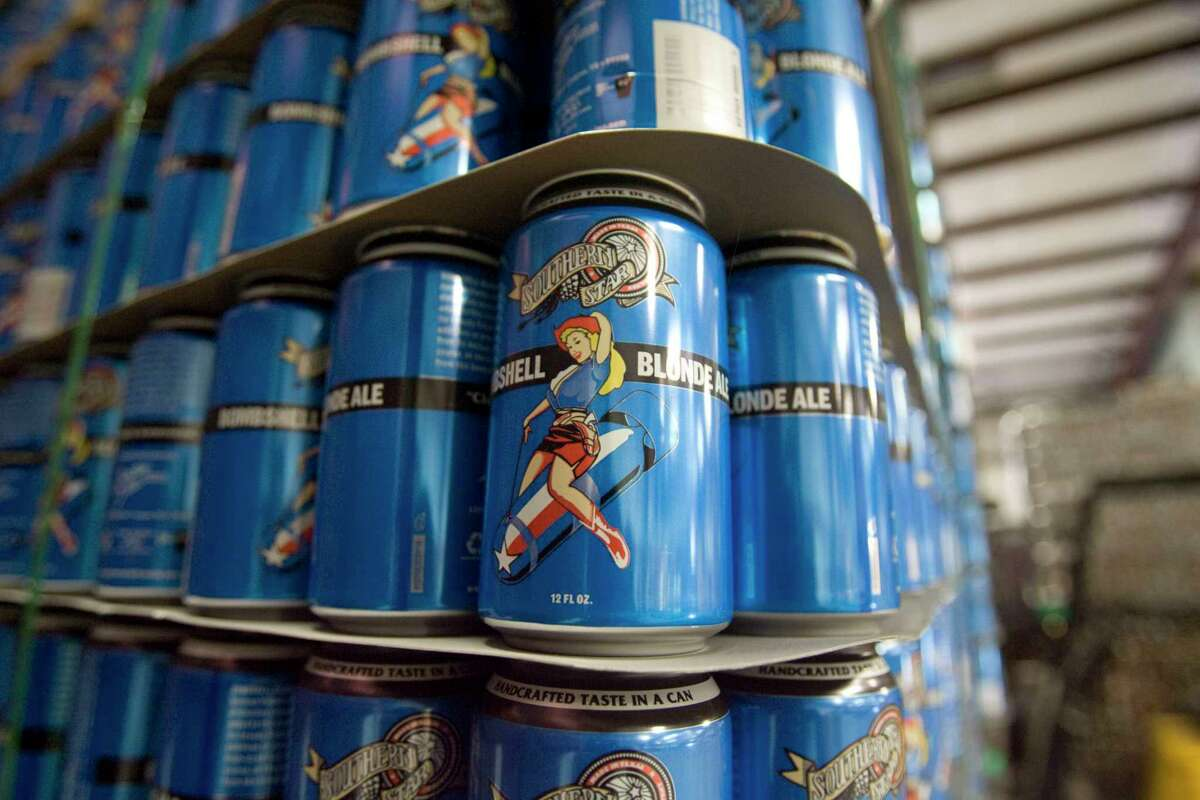 Bombshell Blonde is created by the Southern Star Brewing Co. in Conroe.