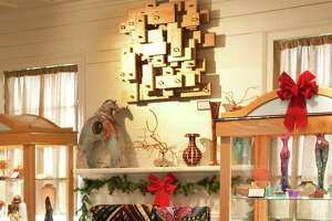 The Copper Shade Tree on Henkel Square offers fine craftwork, mostly by artists from Texas.