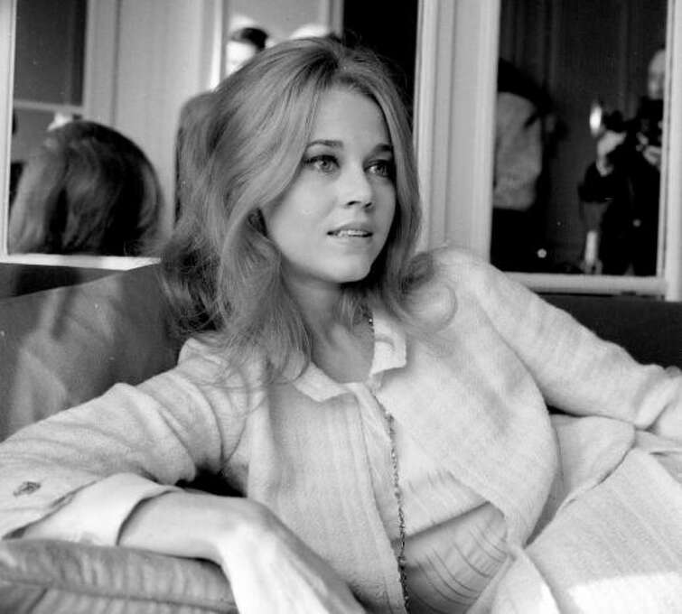 Jane Fonda -- suggested by sitrori. This brings up to nine the women on this list that I've met.