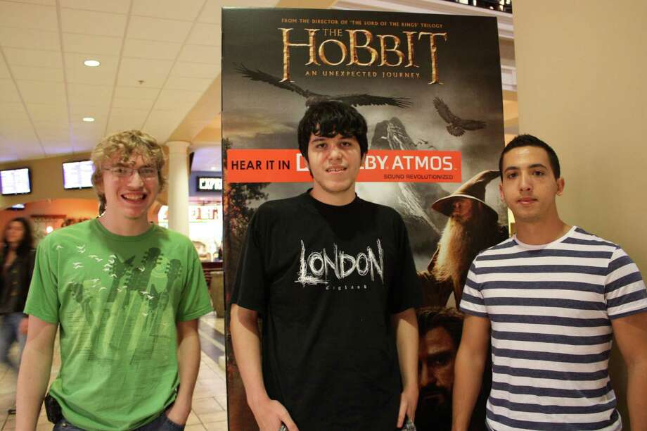 The Hobbit fans stay up Thursday night to catch the opening at The Palladium. Photo: Libby Castillo, MySA.com