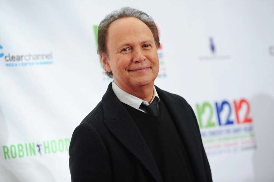 Actor/Comedian Billy Crystal appears backstage at 12-12-12 The Concert for Sandy Relief, on Wednesday, Dec. 12, 2012 in New York. Photo: Evan Agostini, Evan Agostini/Invision/AP / AP2012