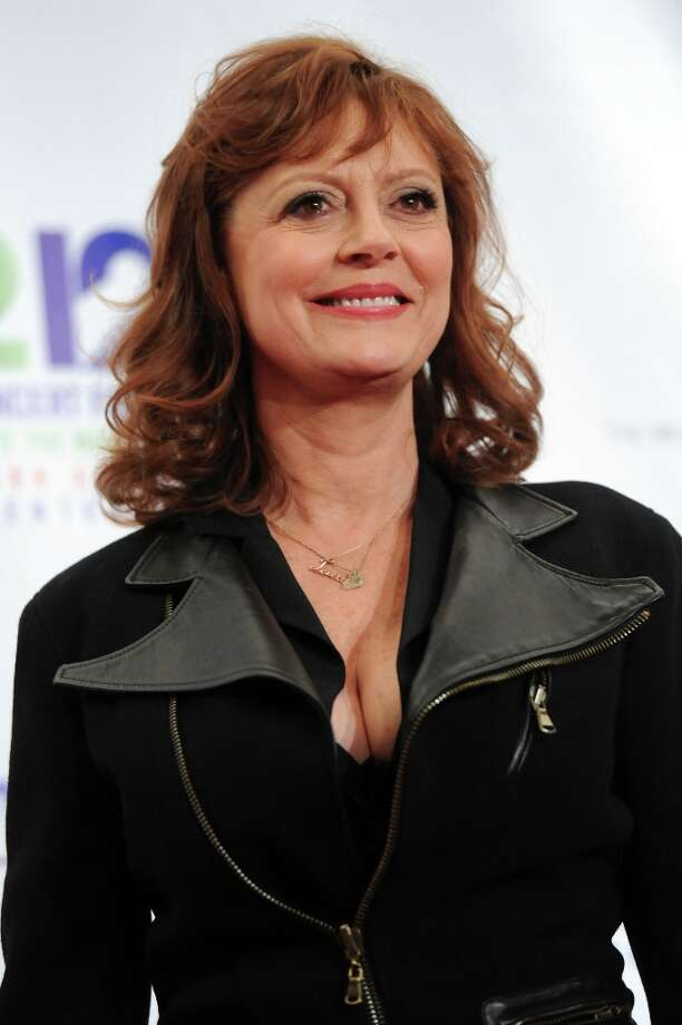 Actress Susan Sarandon appears backstage at 12-12-12 The Concert for Sandy Relief, on Wednesday, Dec. 12, 2012 in New York. Photo: Evan Agostini, Evan Agostini/Invision/AP / AP2012