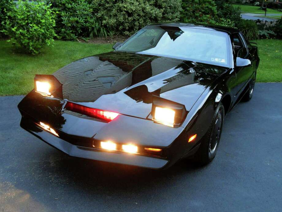 Mike Ott transformed his 1992 Pontiac Firebird into a replica of the Knight Rider K.I.T.T. car. He's now selling the car on Craigslist. Photo: Mike Ott