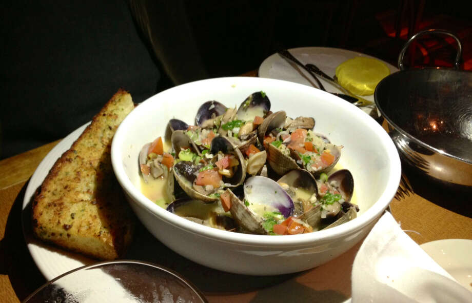 Clams in sherry from The Trident in Sausalito