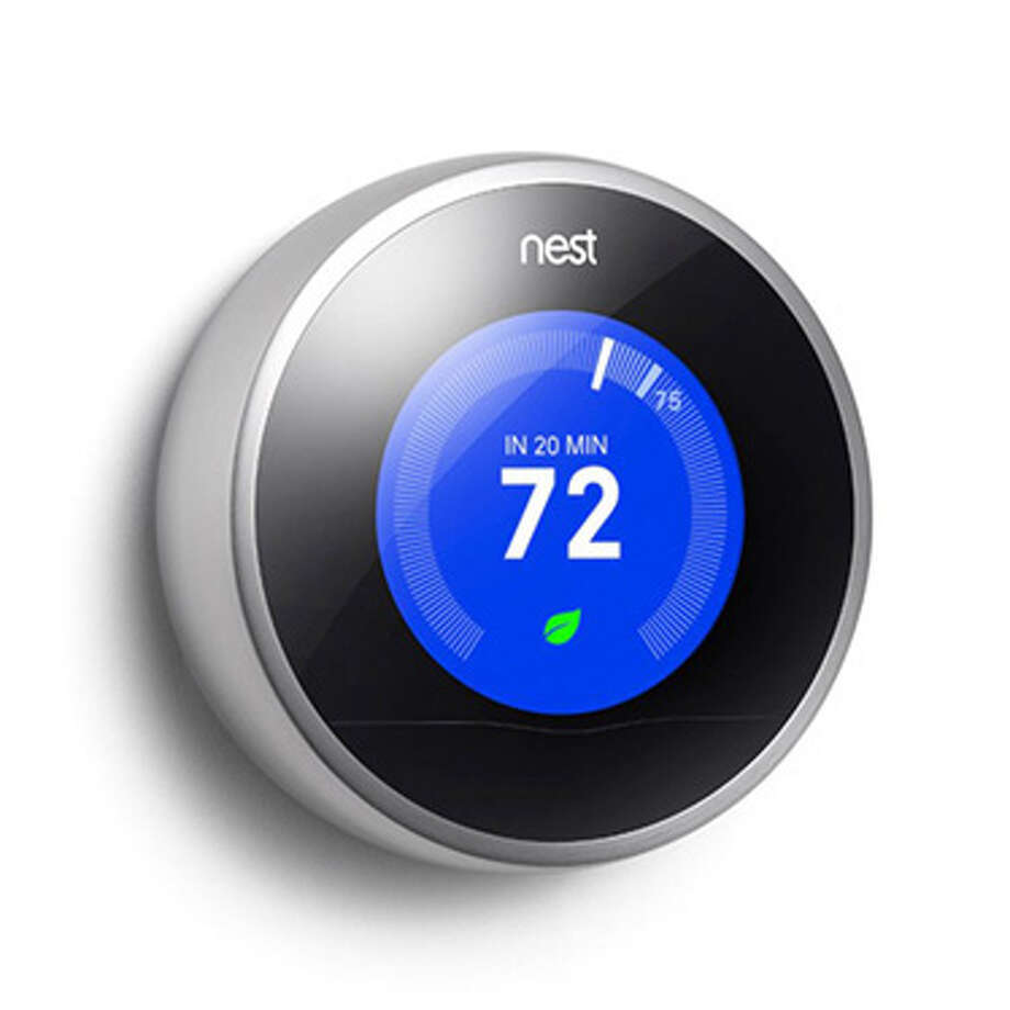 Nest 2.0 Smart ThermostatThis thermostat brings Apple's minimalist design philosophy to the way you heat and cool your home. No, literally. The guy that created it is a former Apple executive and one of the fathers of the iPod. The Nest Smart 2.0 also learns how you use energy so it can more efficiently manage your home's temperature and save you money. Photo: Contributed Photo