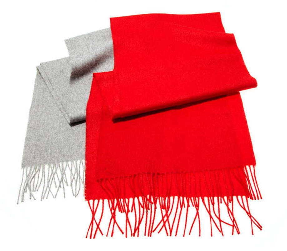 Cardigan New York ScarvesThe perfect one-size-fits-all gift.Scarf ($98) by Cardigan New York, cardigannewyork.com Photo: Contributed Photo / Hearst Communications Inc., 2012