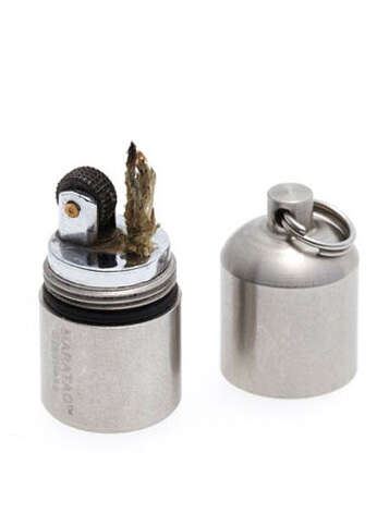 Ball and Buck Pea LighterA miniature lighter for the outdoorsy guy on your list.Split pea lighter ($20) by Ball and Buck, ballandbuck.com Photo: Contributed Photo / Hearst Communications Inc., 2012