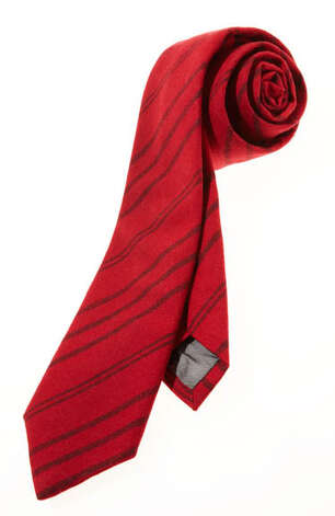 Steven Alan TieFestive, eh?Skinny tie ($78) by Steven Alan, stevenalan.com Photo: Contributed Photo / Hearst Communications Inc., 2012