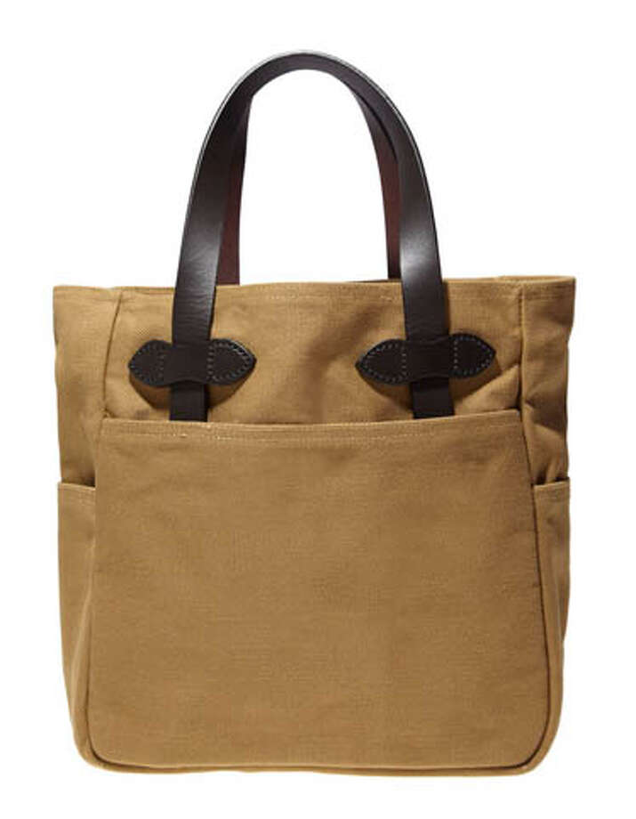Filson ToteFor carrying all those gifts around.Small tote ($90) by Filson,filson.com Photo: Contributed Photo