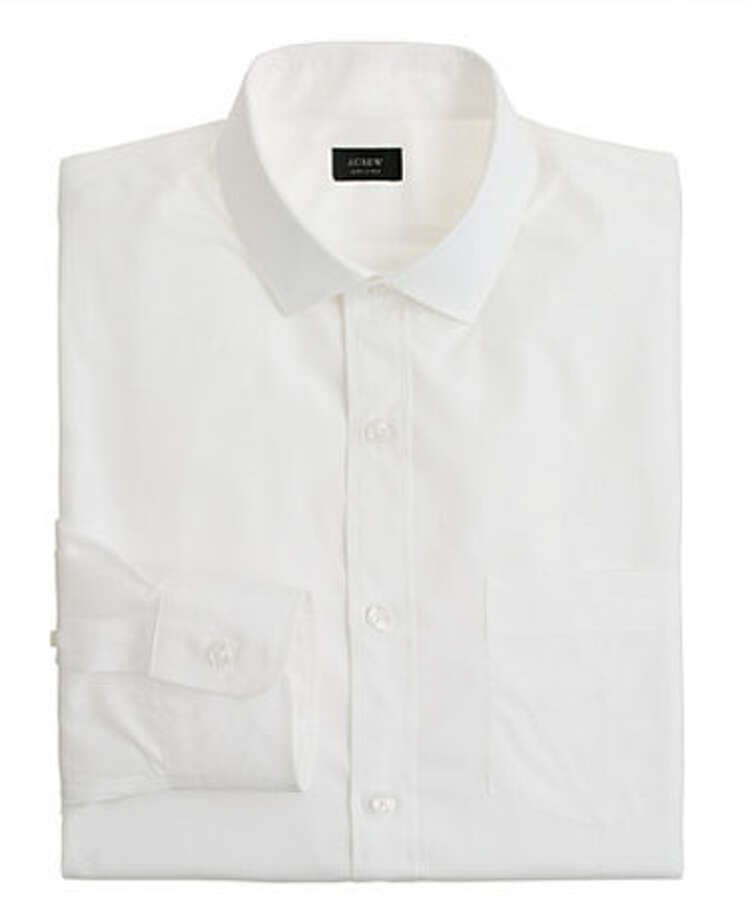 J. Crew ShirtBecause every man should have a classic white button-up in his closet.Classic spread-collar shirt ($88) by J. Crew, jcrew.comMore: 10 Holiday Gadgets Your Son Wants Photo: Contributed Photo